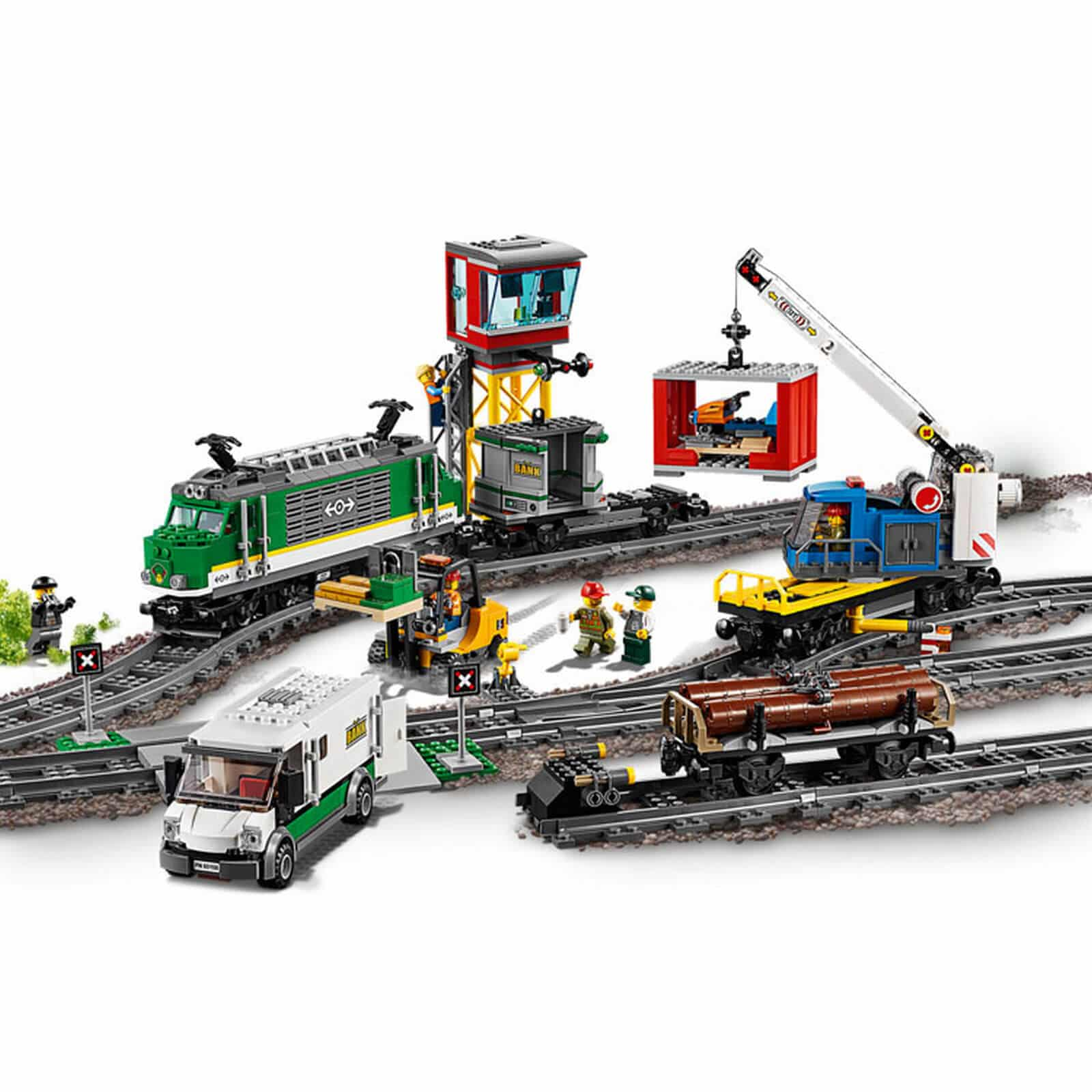 LEGO® 60198 City Cargo Train - Jadrem Toys