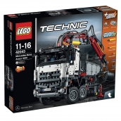 LEGO Mercedes Benz Arocs Truck with Crane Arm