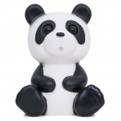 Lapin and Me Panda Lamp Black