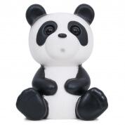 Lapin and Me Panda Lamp Black