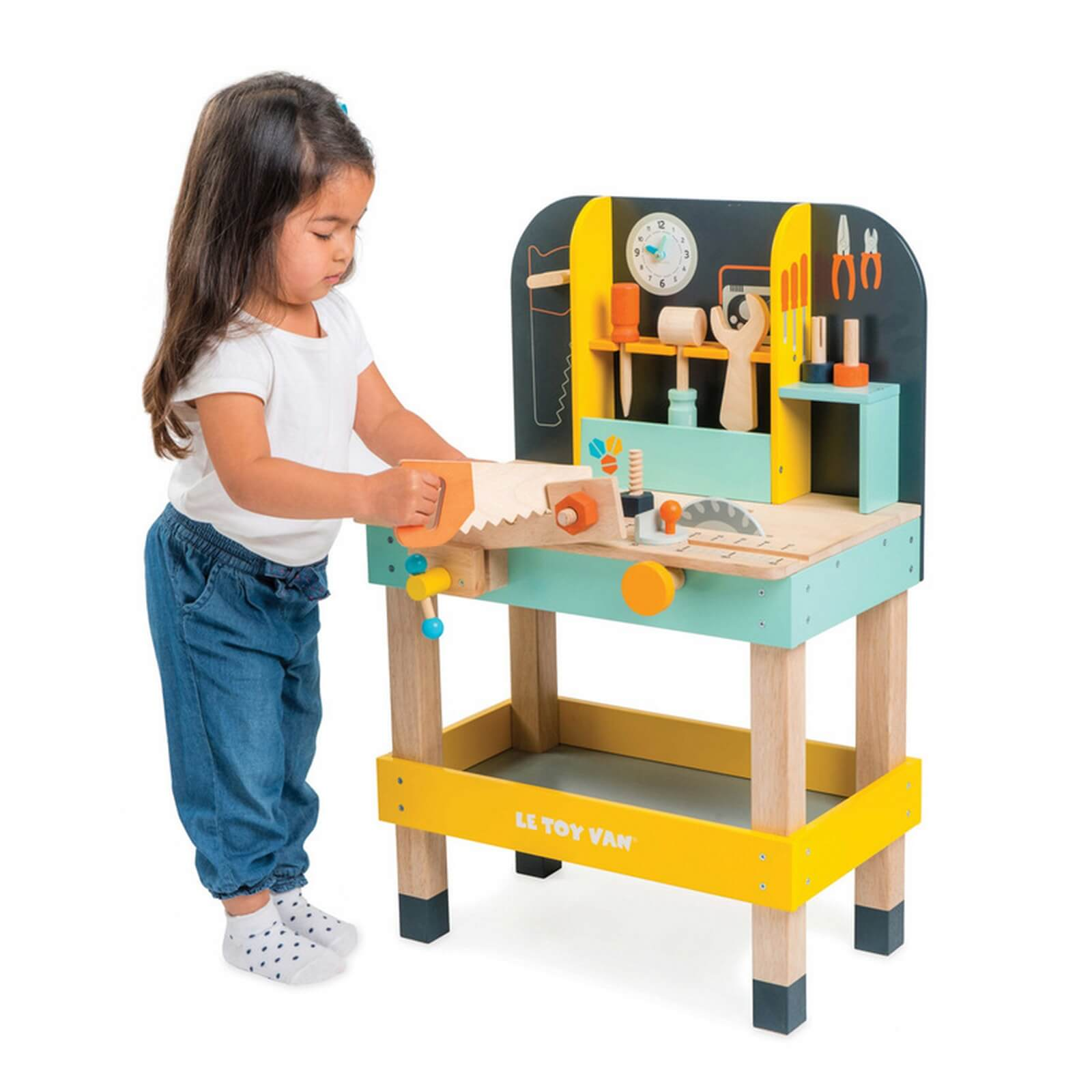 Toys For Work : Le toy van alex s work bench jadrem toys