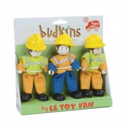 Le Toy Van Budkins Workmen Set