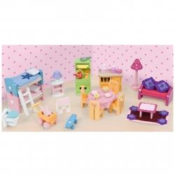 Le Toy Van Deluxe Wooden Furniture Set