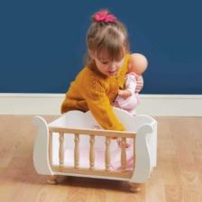 Le Toy Van Honeybake Doll Sleigh Cot