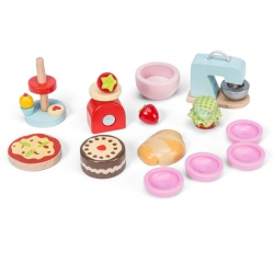 Le Toy Van Make and Bake Kitchen Accessories for Dolls House