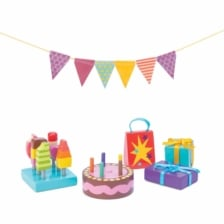 Le Toy Van Party Time Dolls House Accessories