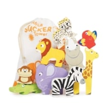 Le Toy Van Petilou Africa Stacking Tower and Bag