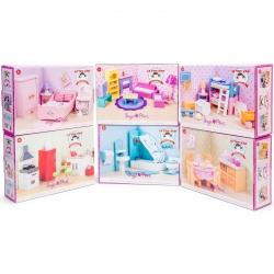 Le Toy Van Sugar Plum Dolls Furniture Bundle