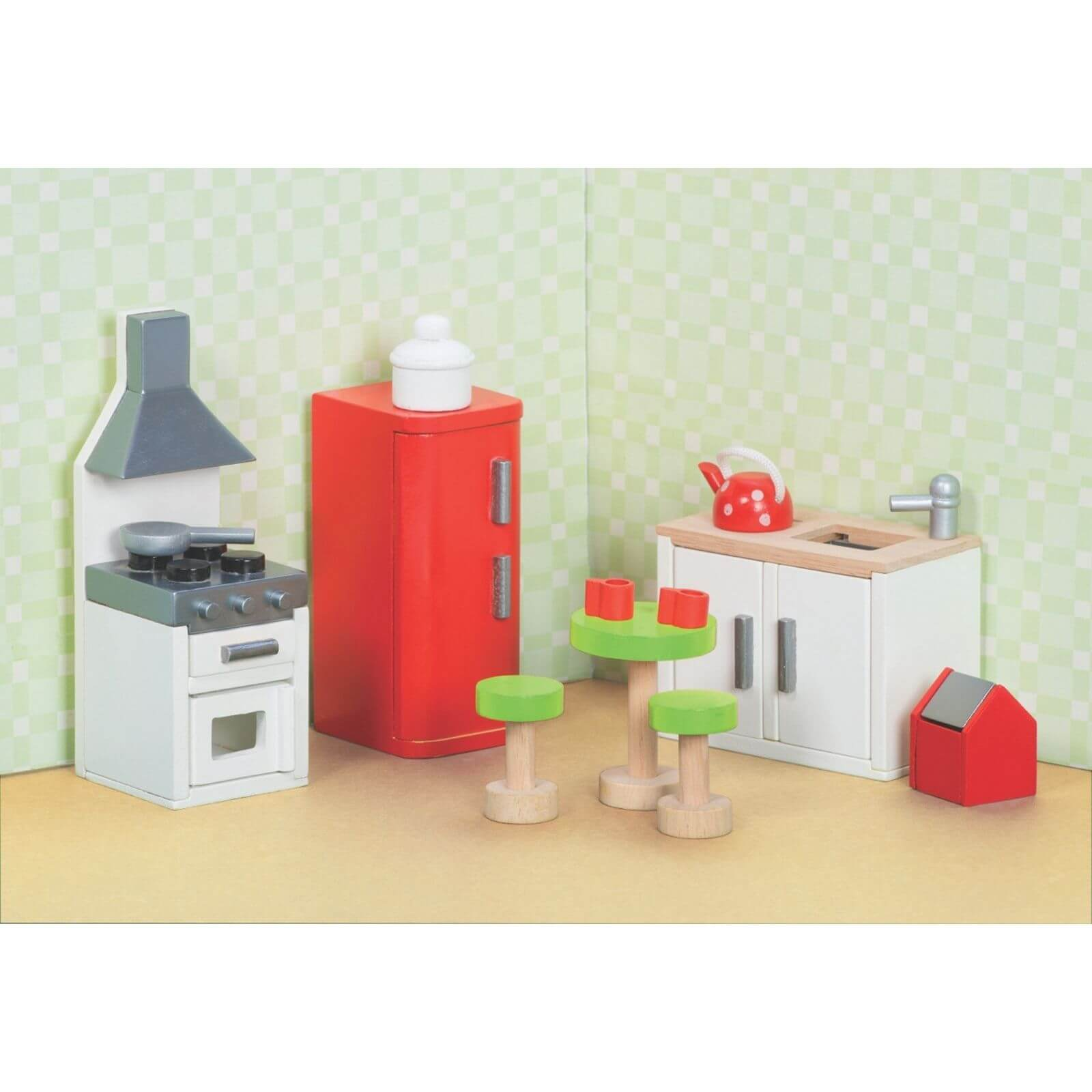 Kitchen Furniture Australia: Le Toy Van Sugar Plum Kitchen Wooden Dolls House Furniture