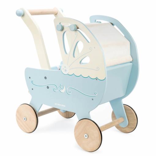 Let Toy Van Moonlight Pram Blue
