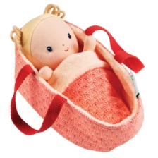 Lilliputiens Baby Anais in Carry Cot