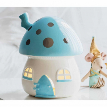 Little Belle Nightlight Blue and Silver