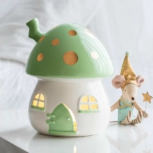 Little Belle Nightlight Mint and Gold