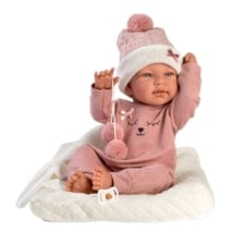 Llorens Articulated Doll Tina with Cushion and Blanket 43cm