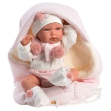 Llorens Baby Doll Nica with Blanket 40cm