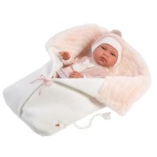 Llorens Baby Doll Tina with Sleeping Bag 43cm