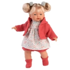Llorens Crying Baby Doll Aitana 33cm