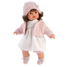 Llorens Crying Baby Doll Aysel 33cm