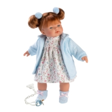 Llorens Crying Baby Doll Lea