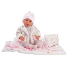 Llorens Crying Baby Doll Tina 44cm
