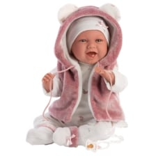 Llorens Laughing Baby Doll Mimi 42cm