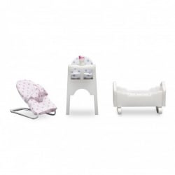 Lundby Smaland Baby Furniture Set