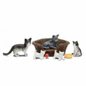 Lundby Smaland Cat Family Scale 1:18