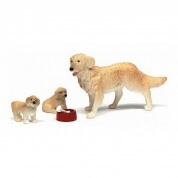 Lundby Smaland Dog Family Scale 1:18