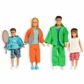 Lundby Stockholm Sporty Family Set