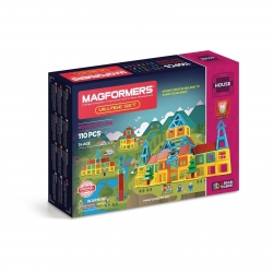 Magformers Village Set 110 Pieces