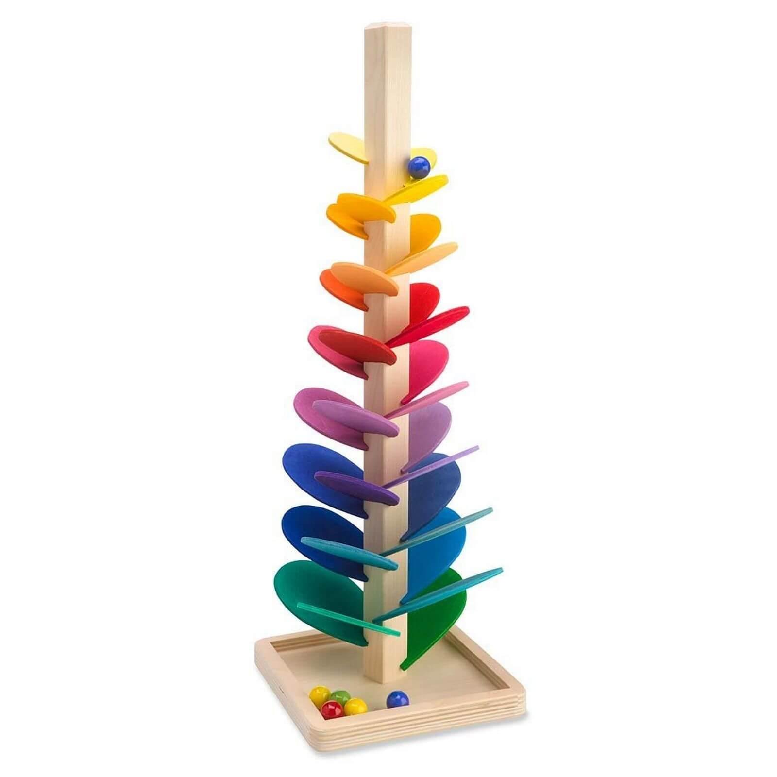 Magic Wood Marble Tree Sounding Tower Large Jadrem Toys