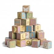 Micki Leksaker Alphabet Blocks Pastel