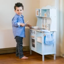 New Classic Toys Kitchenette Modern Blue