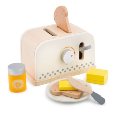 New Classic Toys Pop Up Toaster White