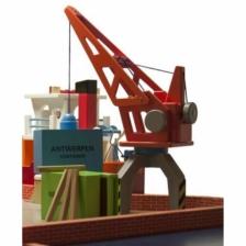 New Classic Toys Wooden Crane