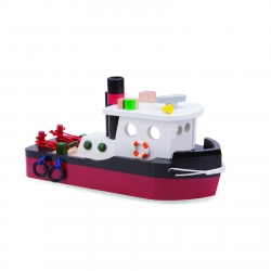 New Classic Toys Wooden Tugboat