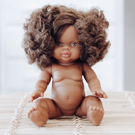Paola Reina Gordis Doll African Girl Marley 34cm