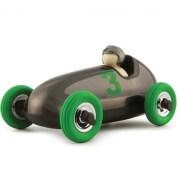 Playforever Bruno Racing Car Gunmetal-Green Wheels