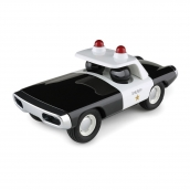 Playforever Heat Black and White Police Sheriff Car