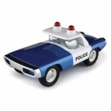 Playforever Heat Police Car Blue
