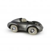 Playforever Mini Gunmetal Racing Car