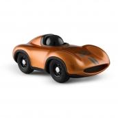 Playforever Mini Metallic Orange Racing Car