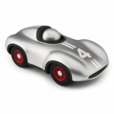 Playforever Mini Silver Racing Car