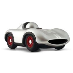 Playforever Mini Silver Racing Car