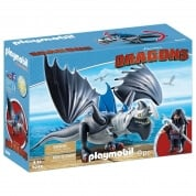Playmobil How To Train Your Dragon Drago and Thunderclaw