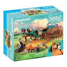 Playmobil Lucky's Dad + Wagon
