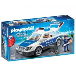 Playmobil Police Car with Lights and Sound