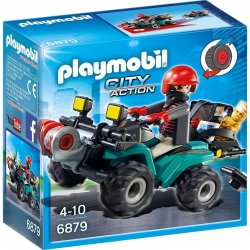 Playmobil Robbers Quad with Loot
