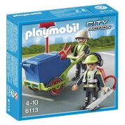 Playmobil Sanitation Team
