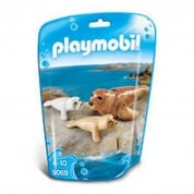 Playmobil Seal with Pups